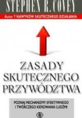 Okładka książki Zasady skutecznego przywództwa Stephen R. Covey