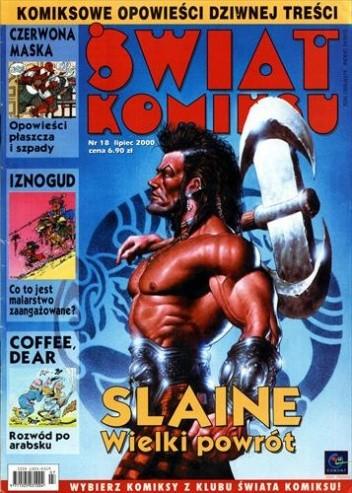 Okładka książki Świat Komiksu #18 (lipiec 2000) René Goscinny,Gordon Rennie,Jean Tabary