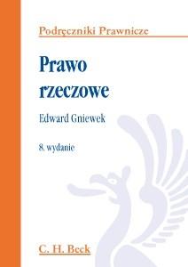 Okładka książki Prawo rzeczowe Edward Gniewek