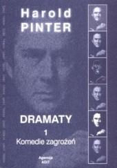 Okładka książki Komedie zagrożeń Harold Pinter
