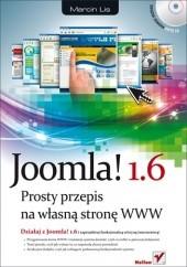 Okładka książki Joomla! 1.6. Prosty przepis na własną stronę WWW Marcin Lis