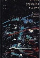 Okładka książki Pewna prywatna sprawa Beppe Fenoglio