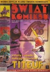 Okładka książki Świat Komiksu #15 (styczeń 2000)