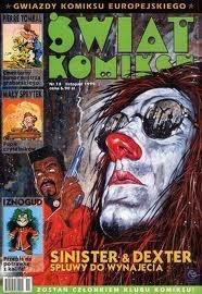 Okładka książki Świat Komiksu #14 (listopad 1999) Dan Abnett,Thierry Cailleteau,Jean-Richard Geurts,René Goscinny,Jean Tabary,Philippe Vandevelde,Olivier Vatine