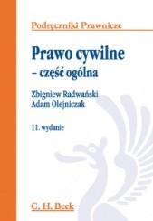 Okładka książki Prawo cywilne : część ogólna