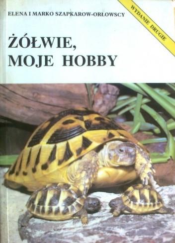 Okładka książki Żółwie, moje hobby