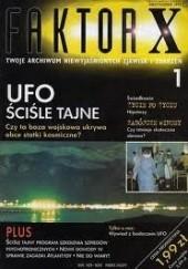 Okładka książki Faktor X, nr 1 Redakcja magazynu Faktor X