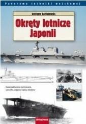 Okładka książki Okręty lotnicze Japonii