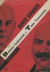Okładka książki Doktor Łokietek i Tata Tasiemka Jerzy Rawicz