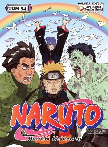 Okładka książki Naruto tom 54 - Na rzecz pokoju Masashi Kishimoto
