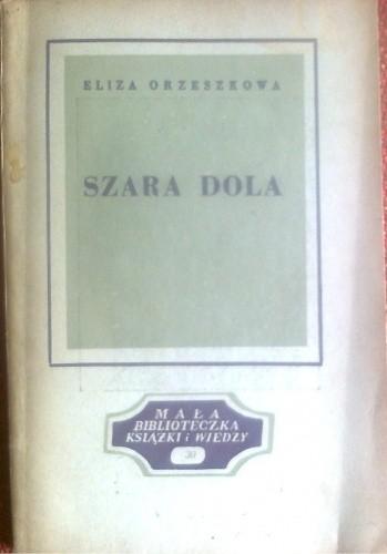 Okładka książki Szara Dola Eliza Orzeszkowa