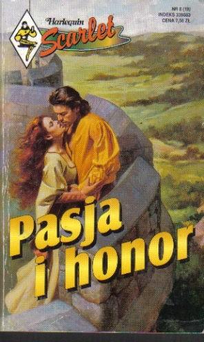 Okładka książki Pasja i honor Margaret Moore