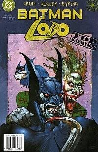 Okładka książki Batman / Lobo Simon Bisley,Alan Grant
