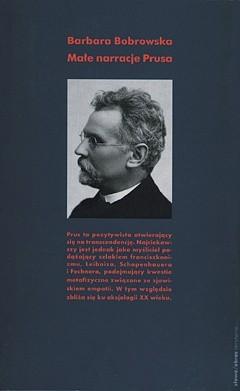 Okładka książki Małe narracje Prusa Barbara Bobrowska