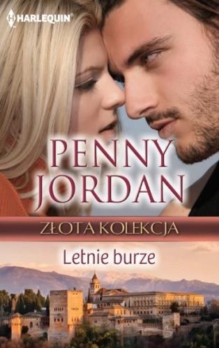 Okładka książki Letnie burze Penny Jordan