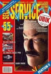 Okładka książki Secret Service 55 (marzec 1998) Redakcja Miesięcznika Secret Service,Marcin Przasnyski,Waldemar Nowak