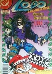 Okładka książki Lobo: Paramilitarne Święta Specjalne / LOBOtomia w San Diego Keith Giffen,Simon Bisley,Alan Grant