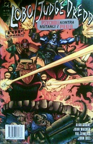 Okładka książki Lobo / Judge Dredd Alan Grant,Val Semeiks,John Wagner