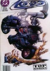 Okładka książki Lobo: Płonący łańcuch miłości Alan Grant,Jim Balent