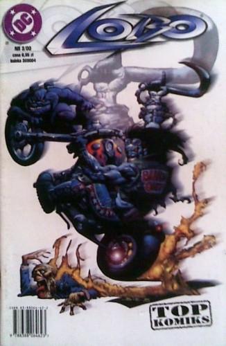 Okładka książki Lobo: Płonący łańcuch miłości Jim Balent,Alan Grant