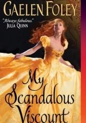 Okładka książki My Scandalous Viscount Gaelen Foley