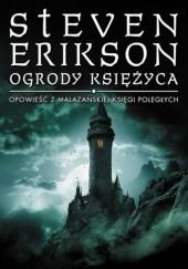 Okładka książki Ogrody Księżyca Steven Erikson