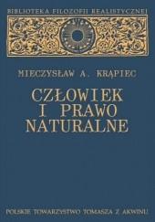 Okładka książki Człowiek i prawo naturalne Mieczysław Albert Krąpiec OP