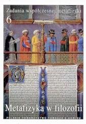 Okładka książki Metafizyka w filozofii