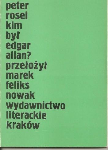 Okładka książki Kim był Edgar Allan?