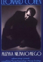 Okładka książki Muzyka nieznajomego Leonard Cohen