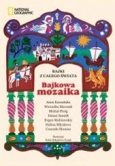 Okładka książki Bajkowa mozaika Anna Kaszubska