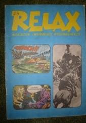Okładka książki Relax 23 - magazyn opowieści rysunkowych Redakcja magazynu komiksowego Relax