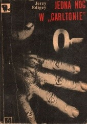 """Okładka książki Jedna noc w """"Carltonie"""""""