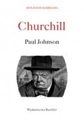 Okładka książki Churchill Paul Johnson