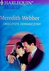 Okładka książki Uroczyste oświadczyny Meredith Webber