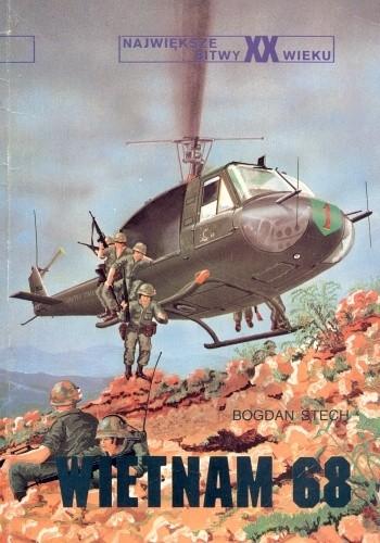 Okładka książki Wietnam 68 Bogdan Stech