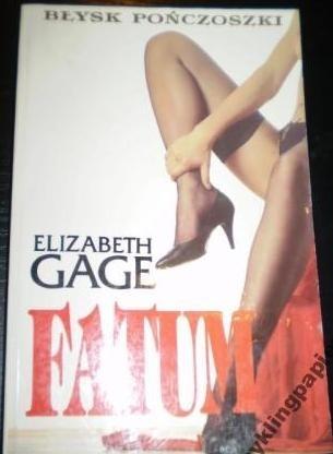 Okładka książki Fatum Elizabeth Gage