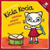 Okładka książki Kicia Kocia zakłada zespół muzyczny Anita Głowińska