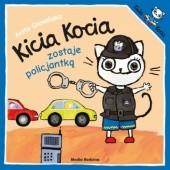 Okładka książki Kicia Kocia zostaje policjantką Anita Głowińska