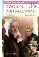 Okładka książki Burza nad rajem Marian Piotr Rawinis