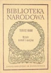 Okładka książki Wybór nowel i esejów Thomas Mann