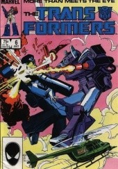 Okładka książki Transformers 3/1991 Bob Budiansky,Alan Kupperberg