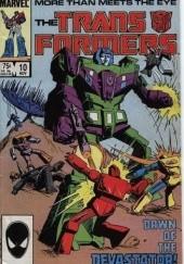 Okładka książki Transformers 2/1992 Bob Budiansky,Mike Manley,Ricardo Villamonte