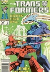 Okładka książki Transformers 5/1992 Bob Budiansky,Don Perlin