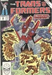 Okładka książki Transformers 3/1993 Bob Budiansky,José Delbo