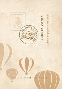 Okładka książki Pięć tygodni w balonie Juliusz Verne