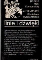 Okładka książki Linie i dźwięki Maria Konopnicka
