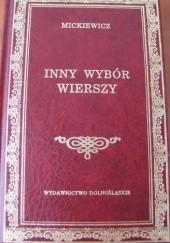 Okładka książki Inny wybór wierszy Adam Mickiewicz