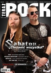 Okładka książki Teraz Rock, nr 6 (112) 2012 Redakcja magazynu Teraz Rock