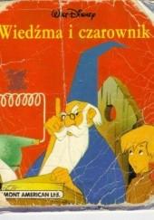Okładka książki Wiedźma i czarownik Walt Disney